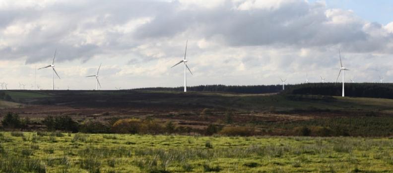 Wind Farm extension Turbine Consented